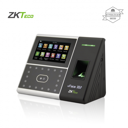 ZKTeco uFace 302 Multi-Biometric T&A and Access Control Terminal
