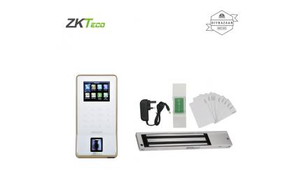 ZKTeco F22 Ultra Thin Fingerprint Time Attendance & Access Control Terminal Set