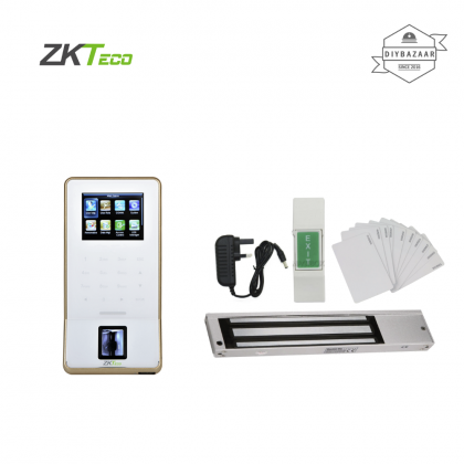 ZKTeco F22 Ultra Thin Fingerprint Time Attendance & Access Control Terminal Set