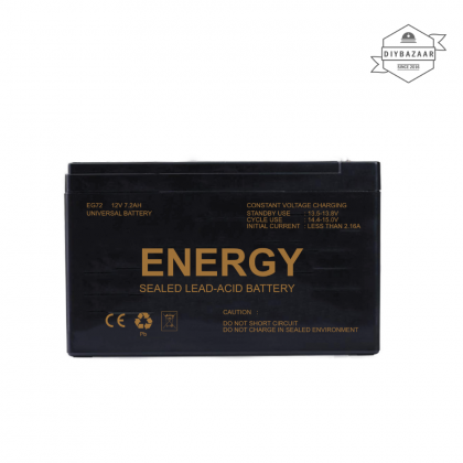 Energy Backup Battery 12V7.2AH