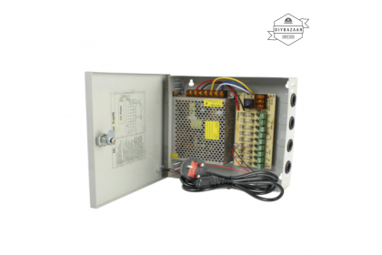 12V10A Power Supply With Casing