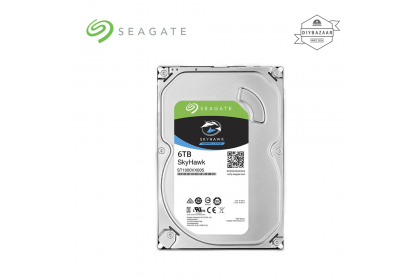 Seagate Skyhawk Surveillance Hard Drives HDD 6TB