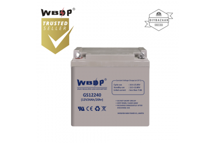 WBDP GS12240 General Standard Series Battery 24.0Ah Nominal Capacity