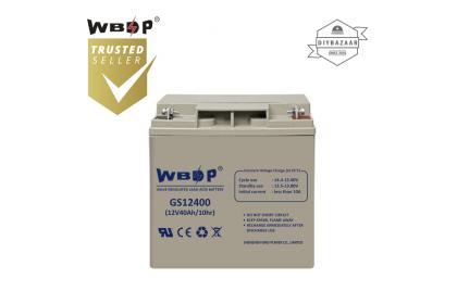 WBDP GS-12400 General Standard Series Battery 40.0Ah Nominal Capacity