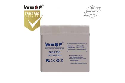 WBDP GS12750 General Standard Series Battery 75.0Ah Nominal Capacity