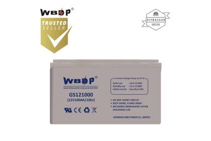 WBDP GS121000 General Standard Series solar Battery 100Ah Nominal Capacity