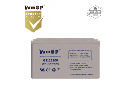 WBDP GS121500 General Standard Series Battery 150.0Ah Nominal Capacity