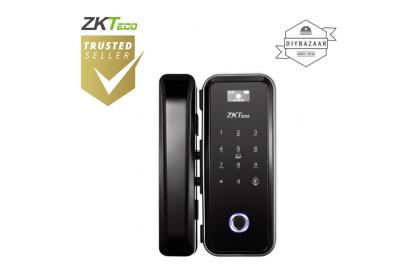 ZKTeco GL300 Fingerprint, MF Card, Password Hybrid Verification Glass Door Lock