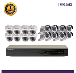 Hikvision 1.3MP IP 16Units+16Ch Package