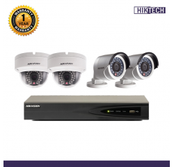 Hikvision  1080p IP 4Units+4Ch Package