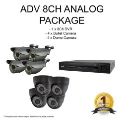 ADV Analog HD 1.3mp 8CH Package