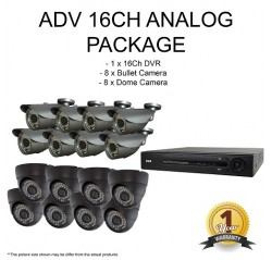 ADV Analog HD 1.3MP 16CH Package