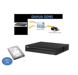 OEM (Dahua) HD-CVI 1mp Tribrid 16ch DVR+1tb (HCVR4116HS-S3)