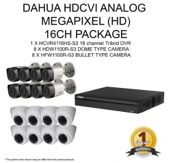 1100Series 720P HD-CVI 16Ch Package