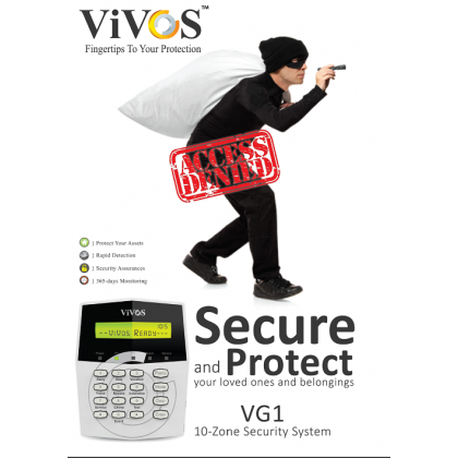 VIVOS G1-Packages 2 VG1-P2 10Zone With LCD Keypad 2Units