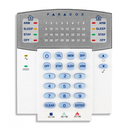 Alarm accessories Paradox 32 Zone LED Keypad K32