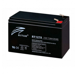(OEM) CCTV Accessories 12V 7AH Backup Battery