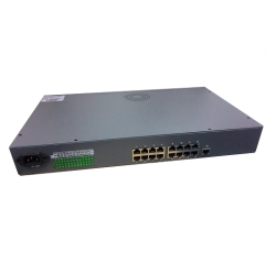 Cctv  Accessories 16Port POE Switch With Uplink