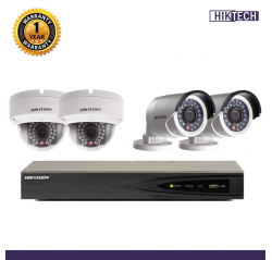 Hikvision 1.3MP 4units+4CH IP Package