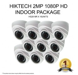 Hiktech 1080P HD Indoor 10Units Set