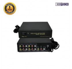 SB-104VA 4 Ways Video + Audio Splitters and Switchers