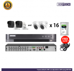 Hikvision 4MP HDTVI 16 Channel Package (with HDD)