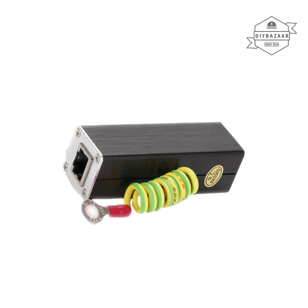 RJ-45 Ethernet Network Surge Protector Lightning Device